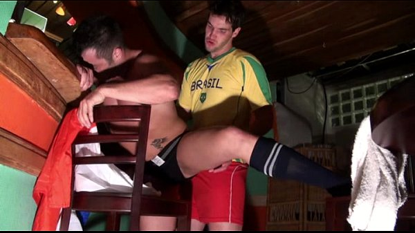 footballers fuck and suck in a bar public player fotbal