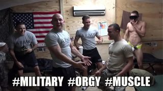 TROOP CANDY –  Soldiers Up To Their Usual Gay Shenanigans On Their Time Off